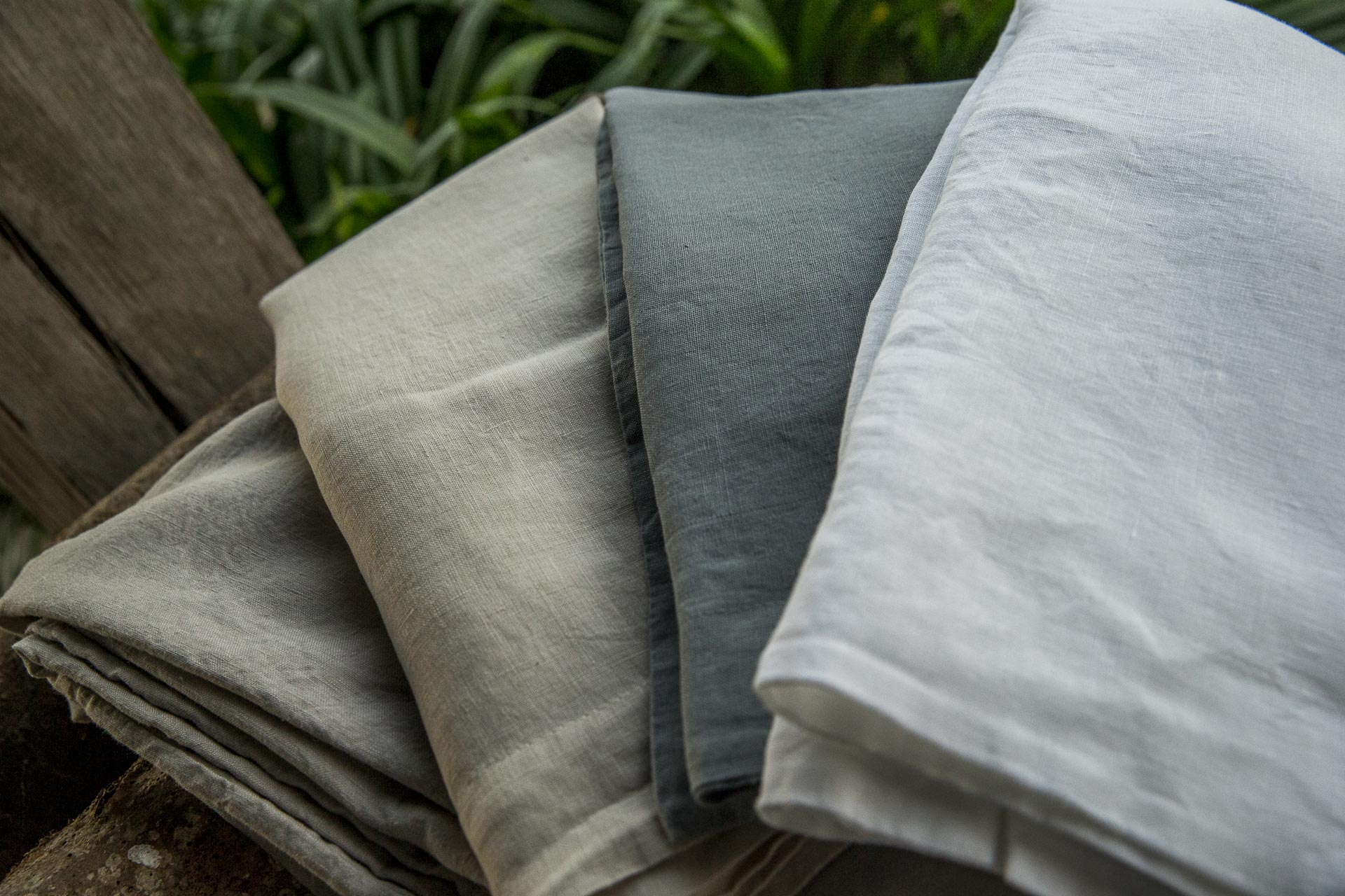 Linge de lit lin haut de gamme Savona professionnels hôtellerie Luxe Linen